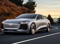 700 kilométeres hatótávval támad az új Audi A6 E-Tron villanyautó