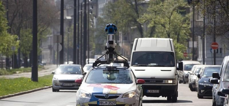 Újra járják az országot a Google autói – térkép!