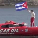 Itt az új rekord: 1 óra 20 perc alá csökkent a Florida-Kuba távolság