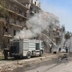 Ismét vegyi fegyvereket vethetett be a szír kormány