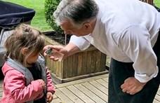 Orbán Viktor is locsolkodott húsvéthétfőn