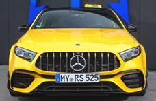 525 lóerős motort kapott a kecskeméti Mercedes A-osztály