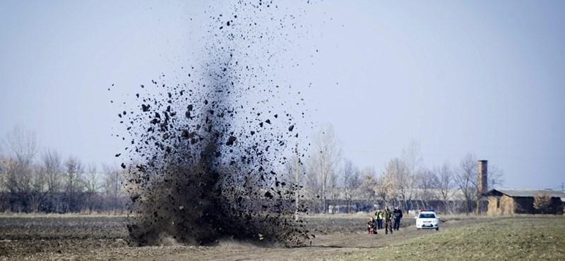 Nyolc kilós bombát semmisítettek meg Tótkomlóson