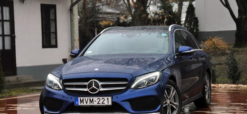 Mercedes C250 BlueTEC teszt: nem kell mindig divatterepjáró