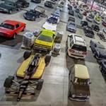 16 milliárd forintért cserélt gazdát a lefoglalt autós gyűjtemény