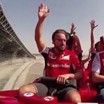 Räikkönen még a világ legdurvább hullámvasútján is majd elalszik – videó