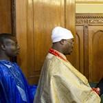 Fotó: Németh Zsolt fogadta Benjamin Ikechukwu Keagborekuzit