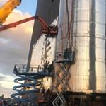 Videó: Nagy robajjal indult be a Csillaghajó hajtóműve