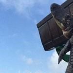 Markolóval kellett elvinni a Floridában kilőtt aligátorszörnyet – fotó