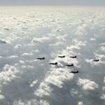 Hússzor megsértette a görög légteret a török légierő