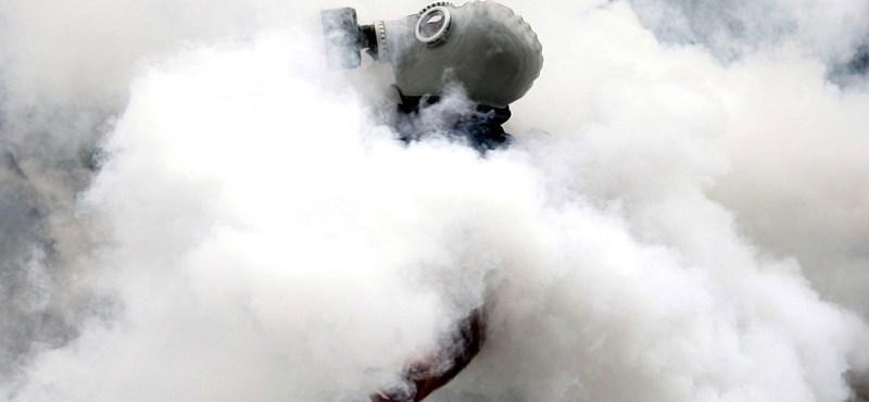 Könnygázt permeteztek a koblenzi bíróság épületébe