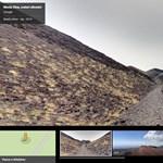 Nézzen szét az Etna tetejéről, most, otthonról
