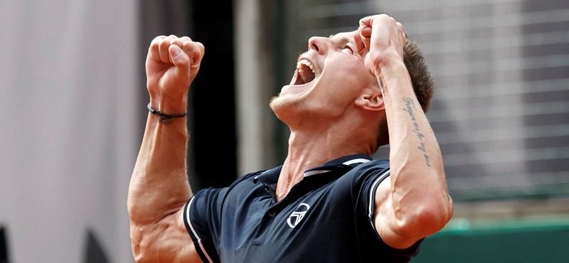 Már negyeddöntőben Fucsovics Rotterdamban