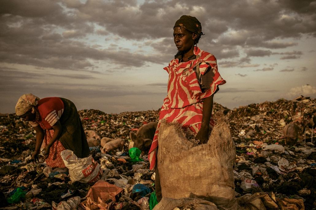 I. helyezett - 'emberek' kategória - Kenya: szemétlerakó Nairobi mellett - NatGeonagy