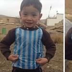 Menekülnie kellett a Messi-zacskós afgán kisfiú családjának