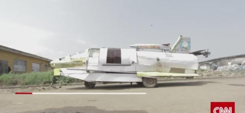 Még nem repül a nigériai rakétaautó