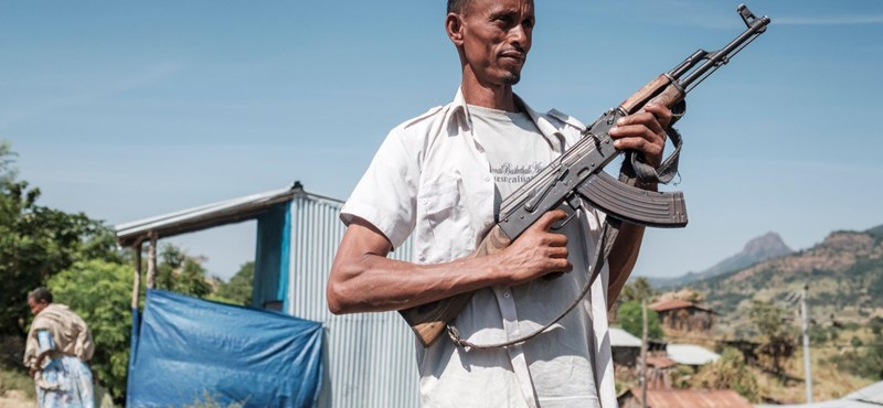 Száznál többen is meghalhattak már egy Etiópiában fellángoló újabb apró polgárháborúban