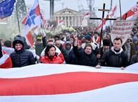 Vlagyimir Putyin ellen tüntettek Európa utolsó, Moszkva-barát diktatúrájában