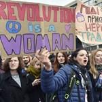 Kefir, fertőtlenítő és szélsőjobbos aktivisták – csak egy átlagos nőnap Ukrajnában