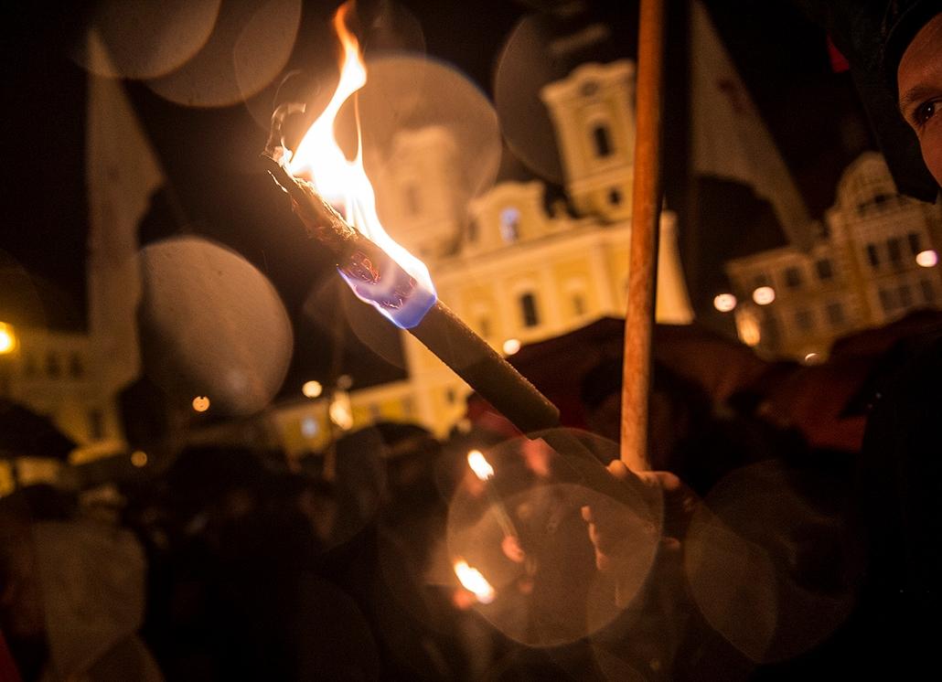 tg.16.02.03. - Miskolc: Pedagógustüntetés, tanársztrájk, oktatás