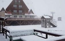 Ne szomorkodjon a rossz idő miatt, a szomszédban havazik