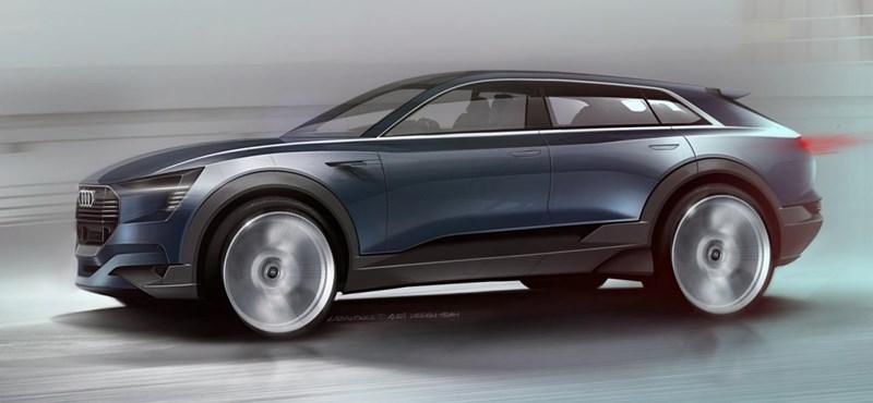 Ha lesz Audi Q6, az elektromos lehet és valami ilyesmi