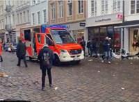 Gyalogosok közé hajtott egy autós Trierben, négyen meghaltak