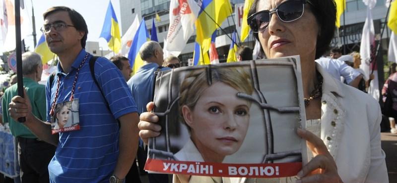 Ítélet: Timosenko hét év börtönt kapott