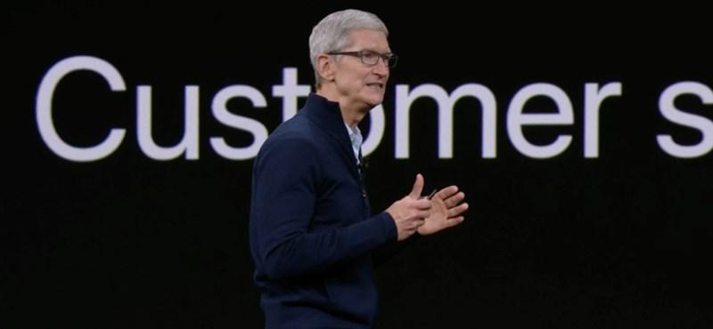 Tim Cook megnyugtat mindenkit: az Apple még sohasem volt ennyire erős