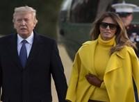 A modellkedéstől Donald Trumpig: hamarosan megjelenik Melania Trump életrajza