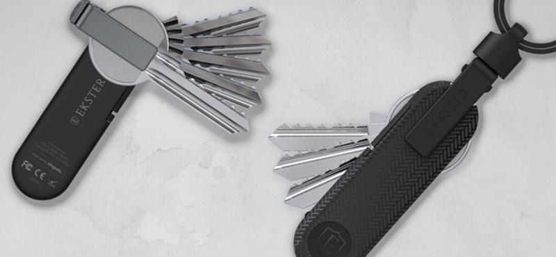 Itt a kulcstartók svájcibicskája, amit igen nehéz elveszíteni