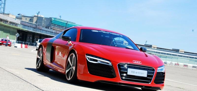 Audi R8 e-tron - galéria