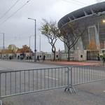 Üres, lezárt utcák a Puskás Aréna környékén - fotók