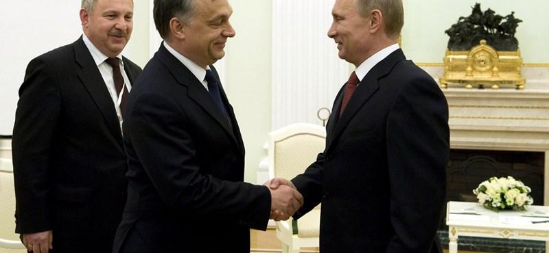 Orbán Putyinnak: szívesen látjuk az orosz cégeket