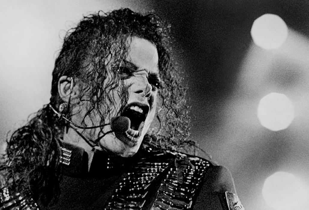 Michael Jackson bangkoki koncertjén, 1993. augusztus 25-én.