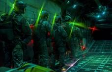 Fotók: mint egy durva sci-fi játékban, úgy dolgoznak az amerikai katonák