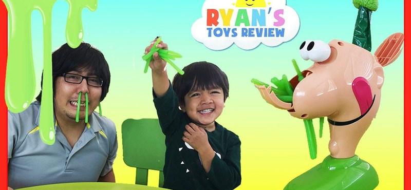 Ryan játszik és baromi sok pénzt keres
