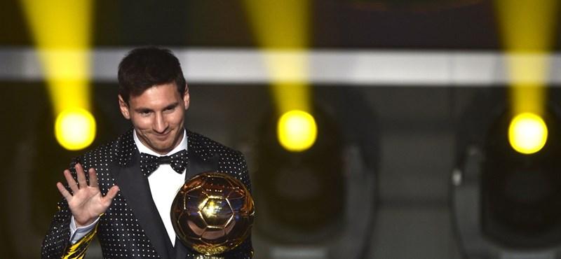 Újabb elismerést söpört be Messi
