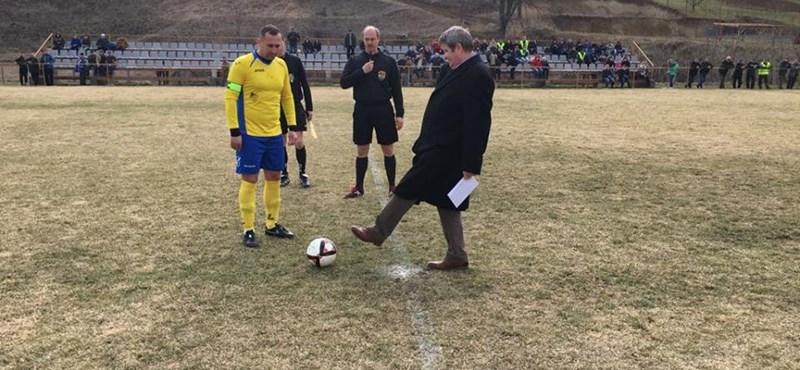 Egészségügyi központot épít tao-támogatásból Tállai András focicsapata Mezőkövesden