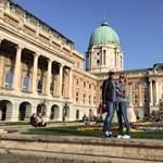 Budapesten van Antonio Banderas