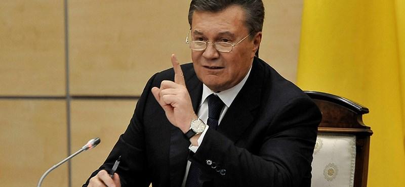 Befagyasztottta Janukovics számláit az EU