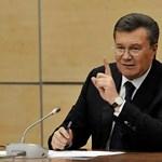 """Janukovics: """"Engem is terhel felelősség a kijevi vérontásért"""""""
