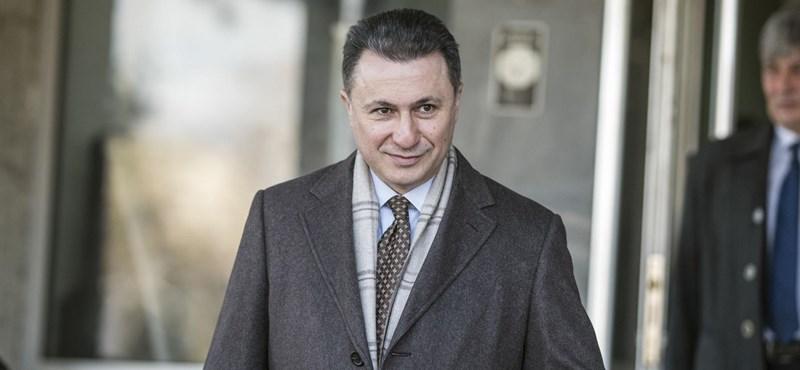 Jöhet a nemzetközi elfogatóparancs Gruevszki ellen