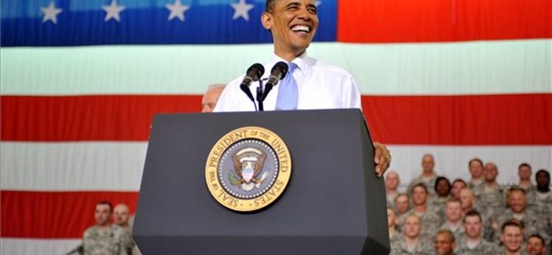 Obama vaskos előnyt szerzett republikánus vetélytársaival szemben