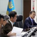 A dél-koreai elnök egyszerre dicsérte Trumpot és Kim Dzsong Unt