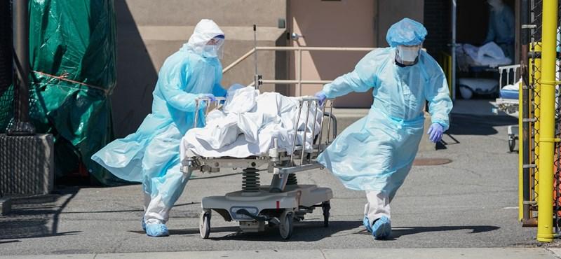 Rekordot döntött az új fertőzöttek száma az Egyesült Államokban