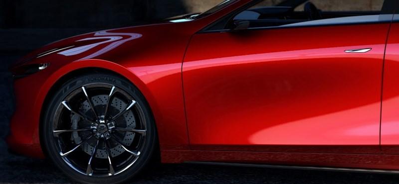 Gyönyörű lesz az új Mazda 3, mutatjuk
