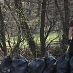 Egy miskolci férfi hatezer liter szemetet szedett össze a Bükkben