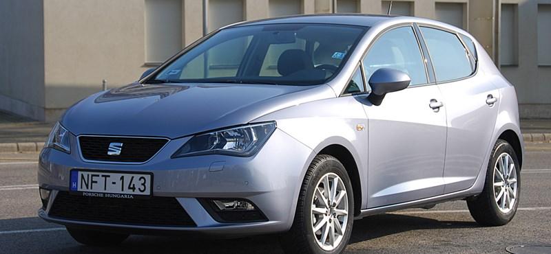 Seat Ibiza 1.2 TSI-teszt: szürke szamár, de beszél