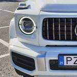 Bedrogozott dinoszaurusz: vezettük az 585 lóerős Mercedes-AMG G63-at - videó